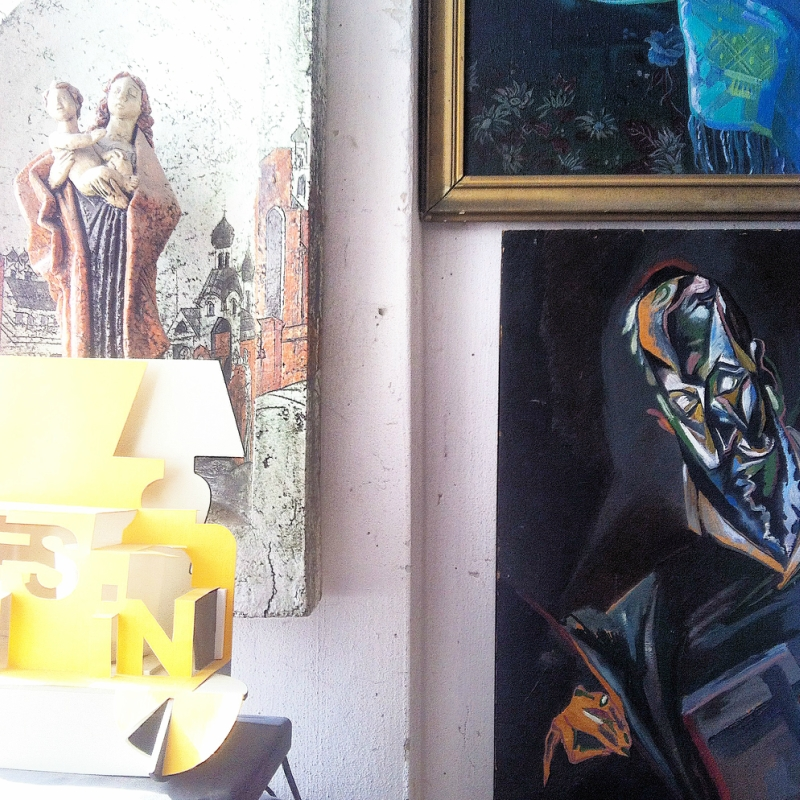 В мастерской у Константина Фокина