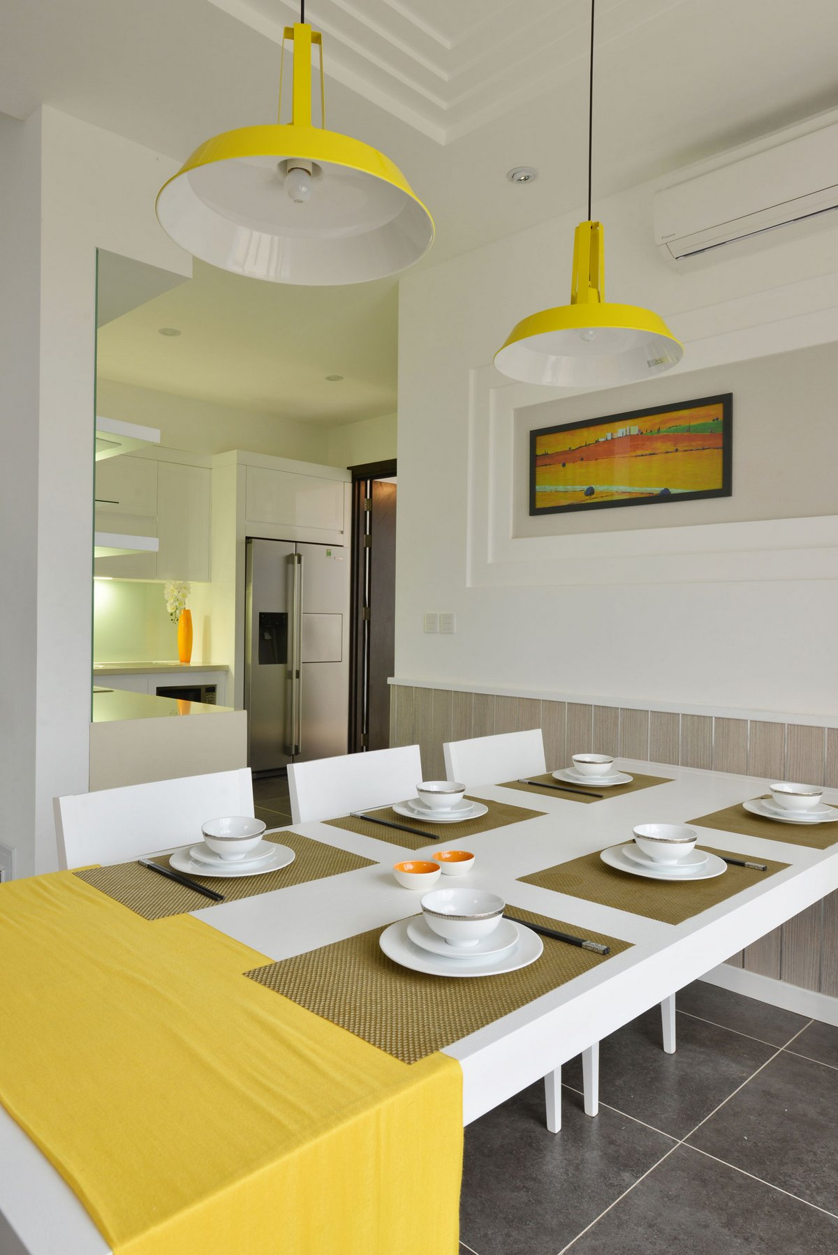 Landmak Architecture, Вьетнам, дом на 2 семьи, таунхаус, фото таунхауса, варианты таунхаусов, дома во Вьетнаме, SD House, план дома, съема дома