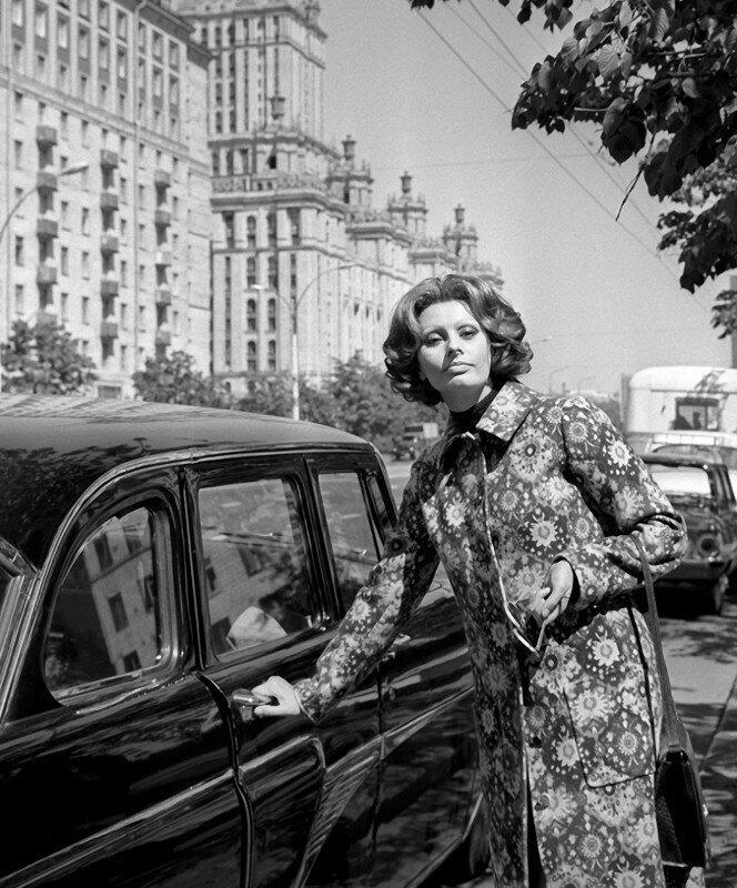 Софи Лорен в Москве, 1970 год