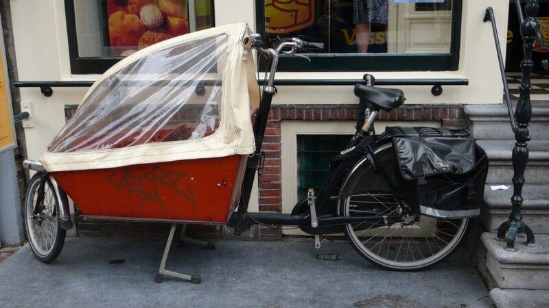 велосипед для багажа, детей и собак