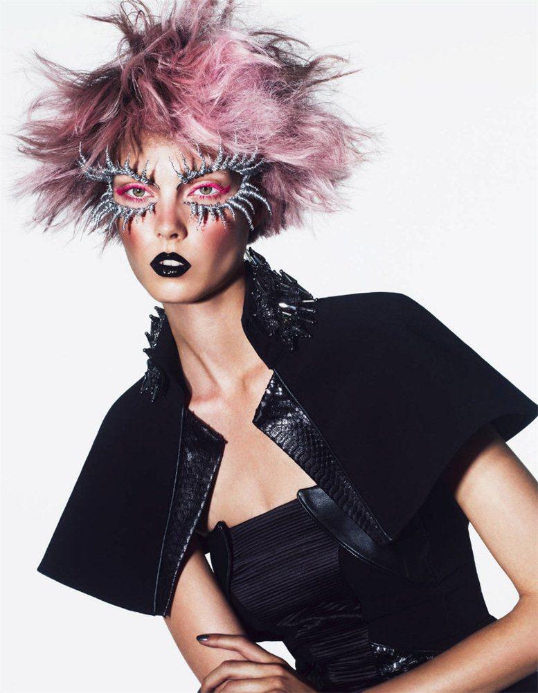 модель Кристи Каурова / Kristy Kaurova, фотограф Andrew Yee