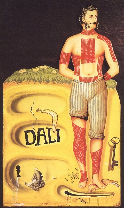 Дали Сальвадор, Surrealist Poster, 1934