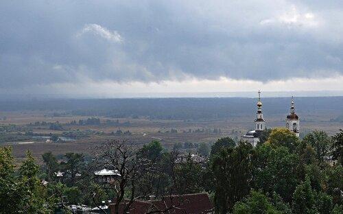 вид с холмов города Владимира