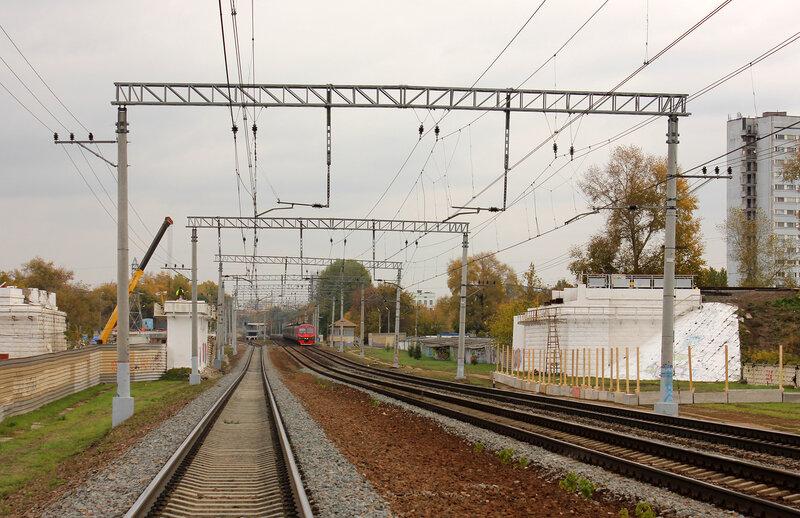 Мост МОЖД над Горьковской