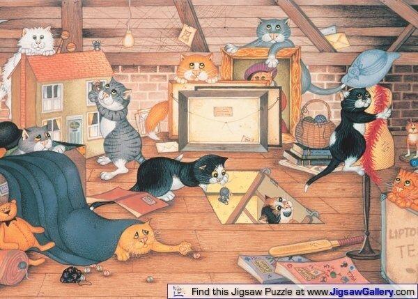 1455afba0aff Жизнь кошек и котов.