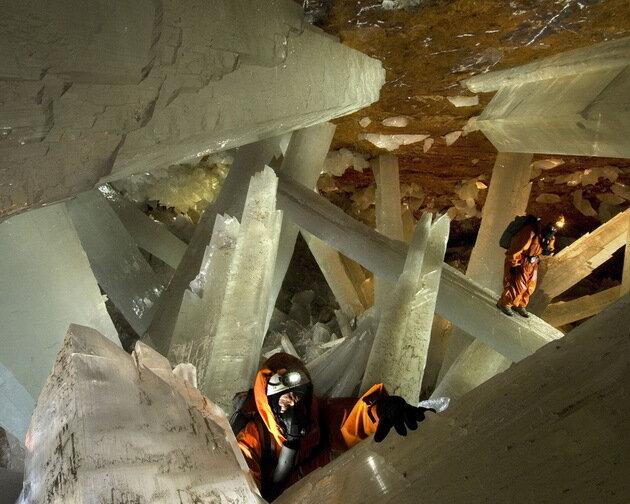 Пещера кристаллов (Cueva de los Cristales). Найка, Мексика