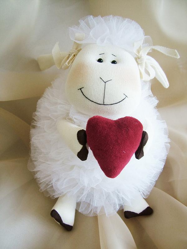 Игрушки овечки к новому году