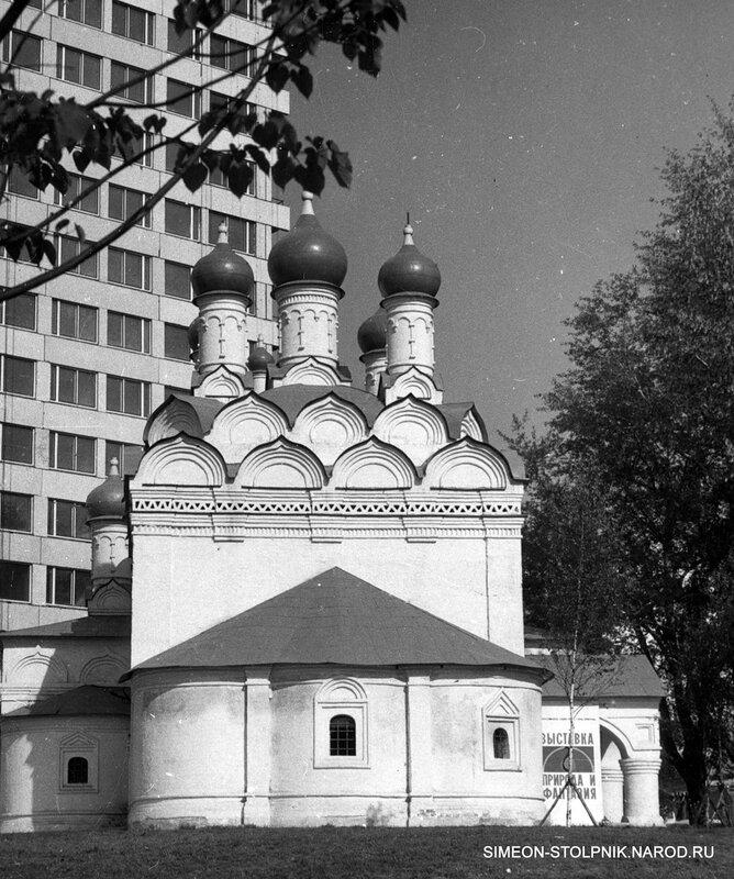 После реставрации. Вид со стороны Калининского проспекта. 1970-е годы.