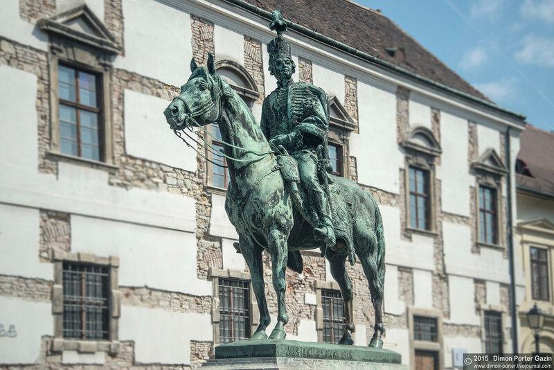 Конные памятники Будапешта