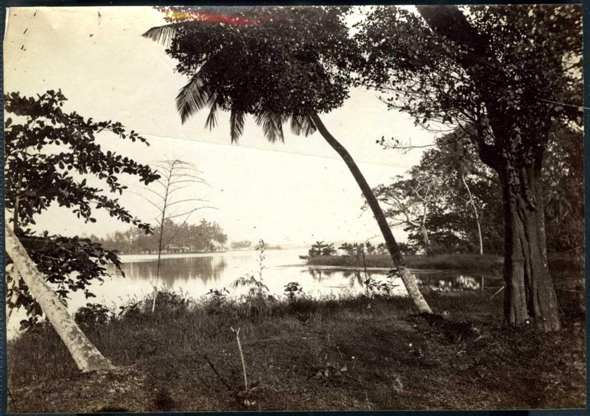 Коломбо. Вид на озеро.1880