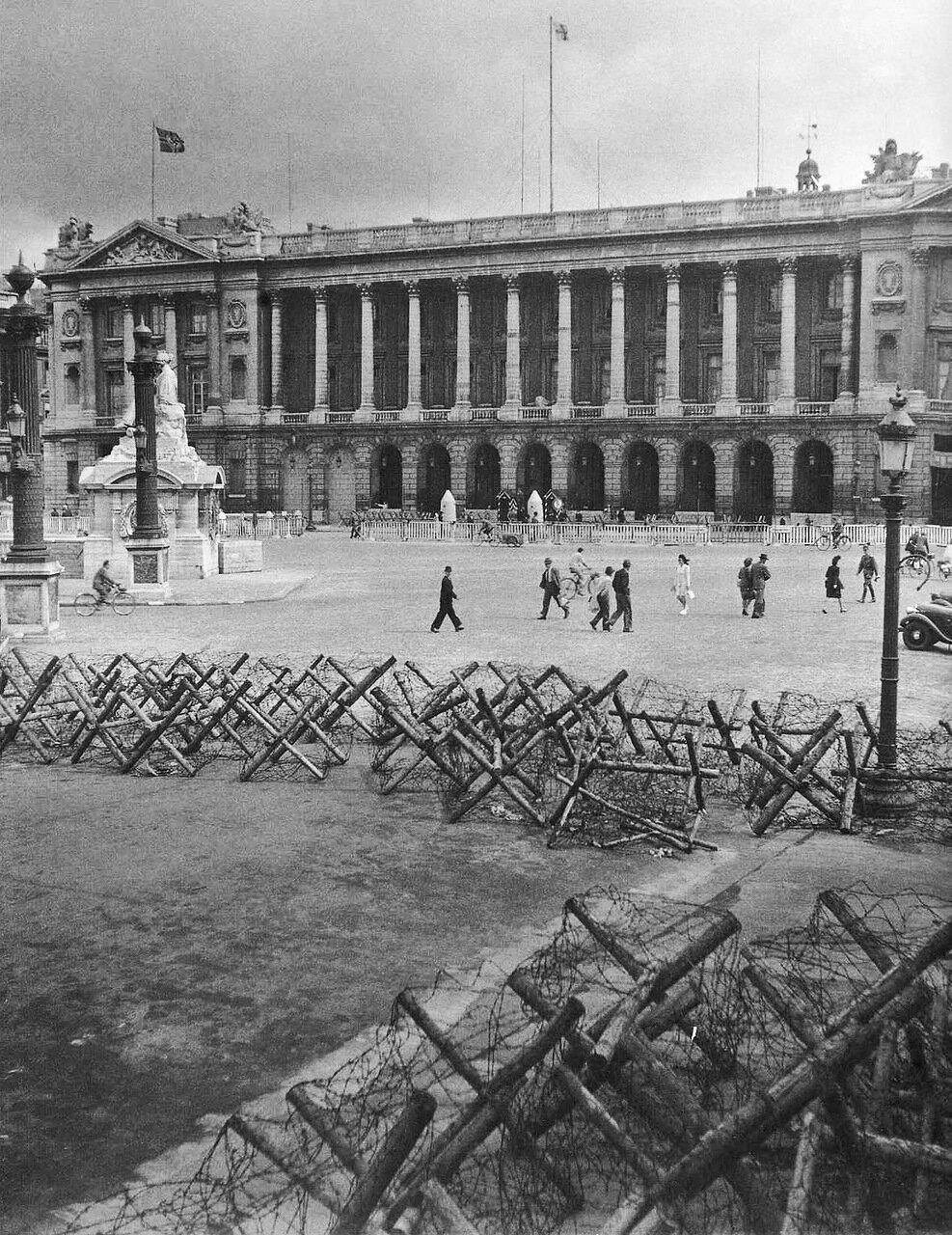 1944. Июль. Площадь Согласия