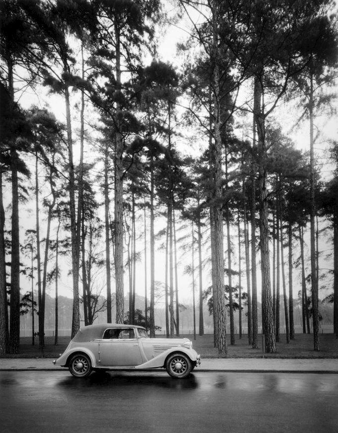 1935. Рено Виваспорт. Булонский лес
