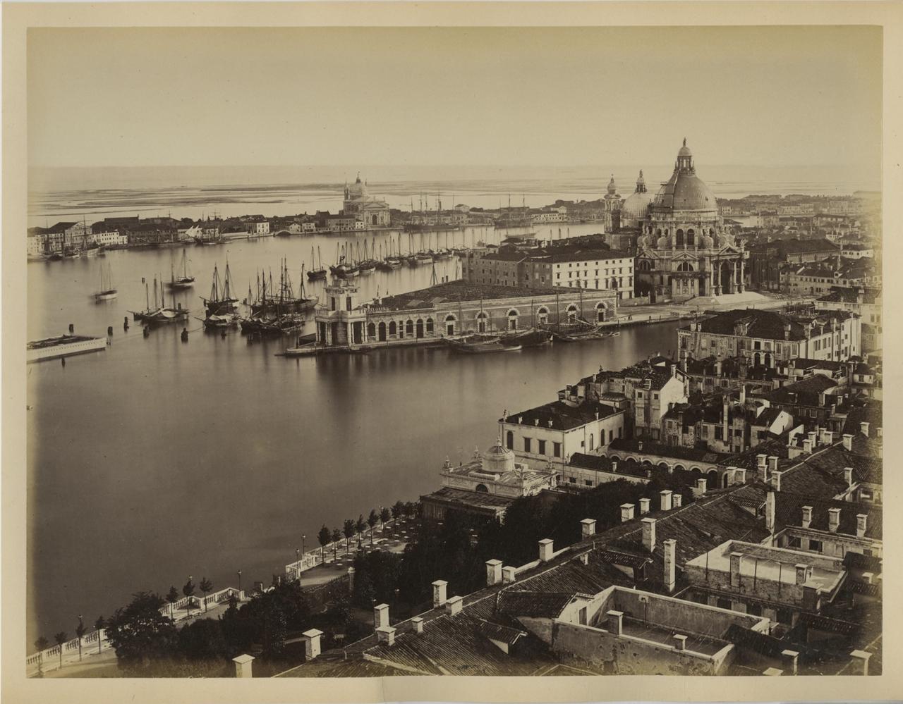 Панорама Венеции с колокольни Святого Марка