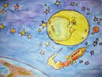 Саввина Татьяна (рук. Богатырева Татьяна Петровна) - Полет на луну