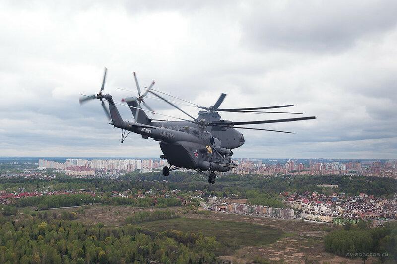 Миль Ми-8МТВ-5 (RF-91184 / 84 желтый) ВКС России D700656