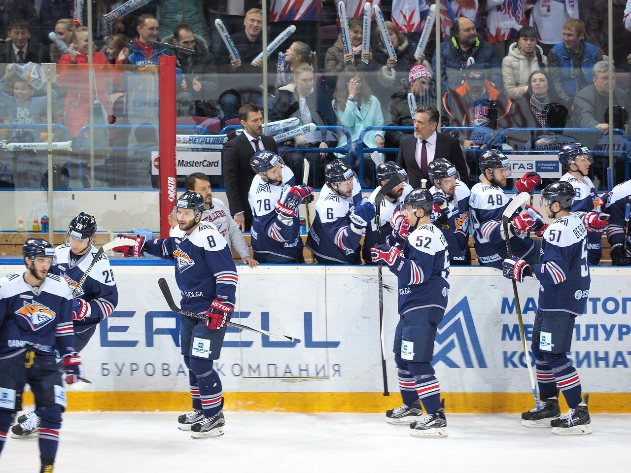 30Плей-офф 2016 Восток Финал Металлург - Салават Юлаев 25.03.2016