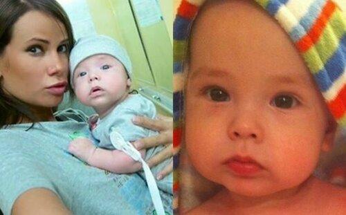 Айза Анохина поделилась редкими фото сына Сами