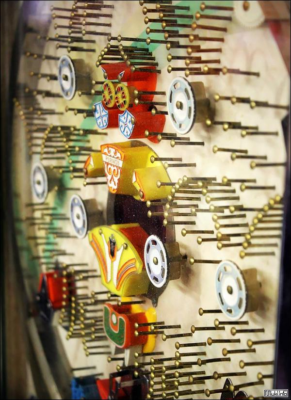 Японский зал винтажных игровых автоматов