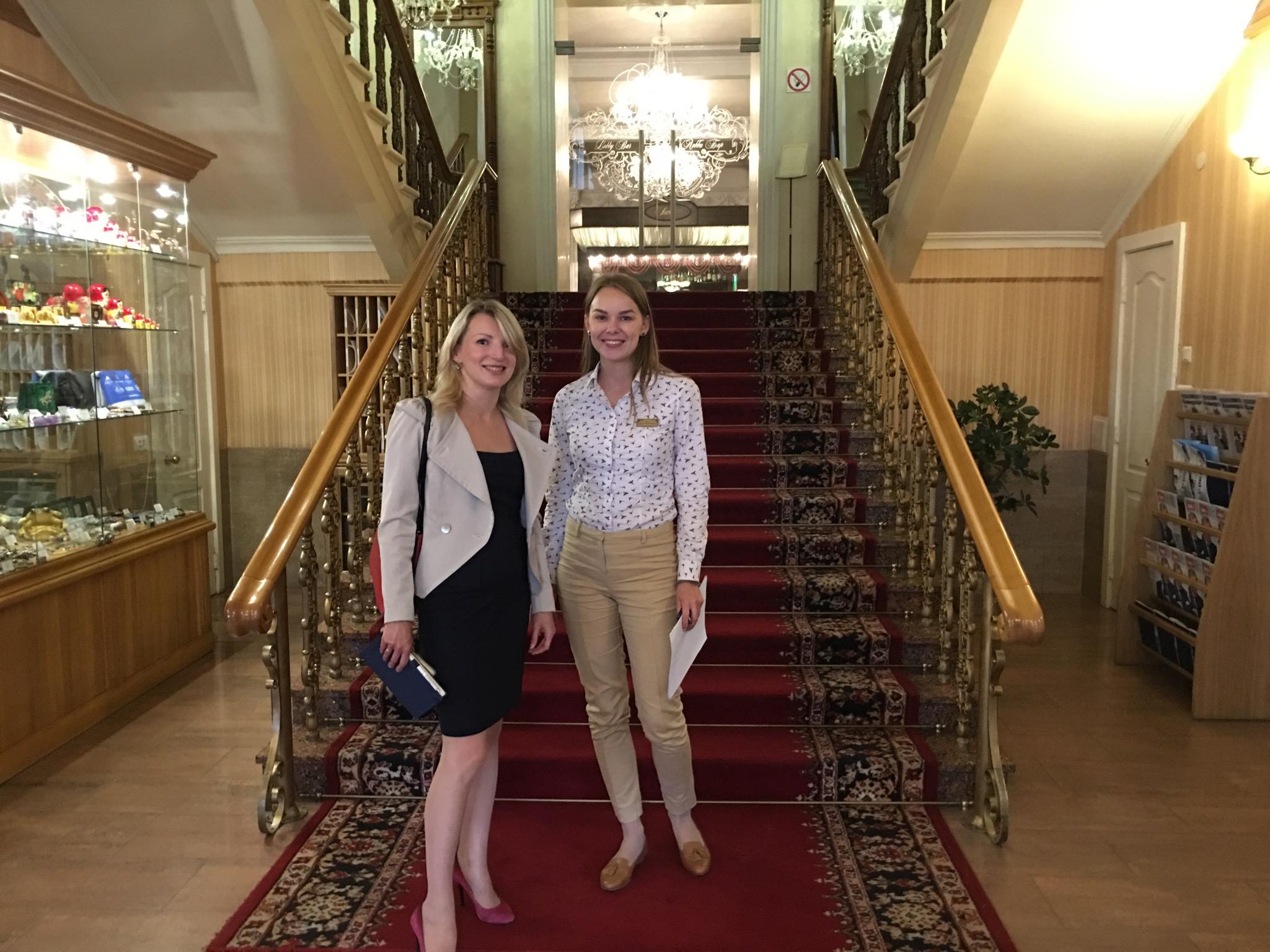 Юлия Якунина и Полина Овчинникова презентуют новый экскурсионный продукт