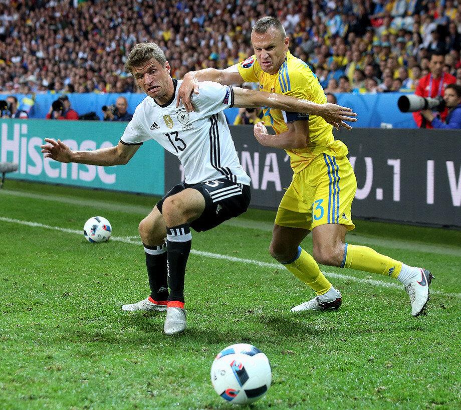 Сборная Германии - сборная Украины