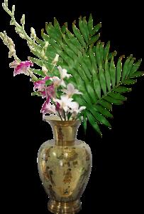 вазы с цветами