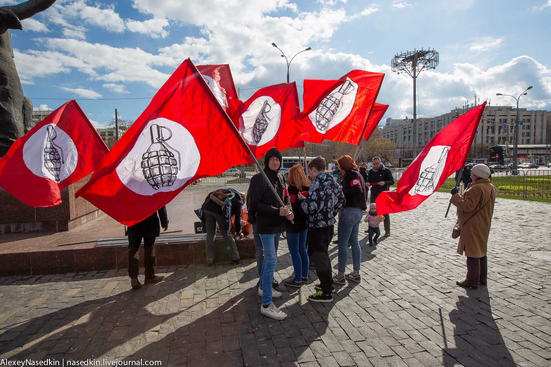 Блог пользователя  Pinokio Pictures: партия Другая Россия Э.Лимонова которая посылала боевиков на Донбасс провела митинг против уголовщины за лайки и репосты