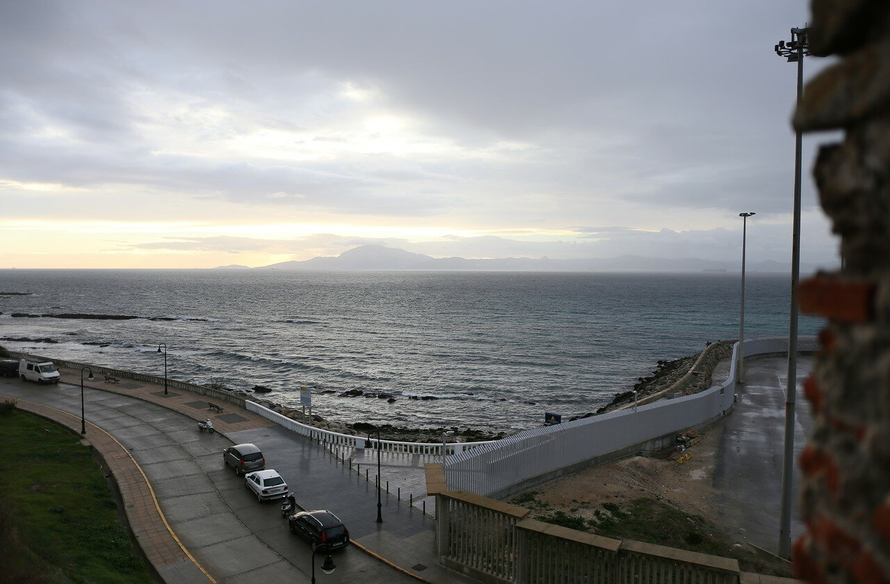 Rate's. Dawn over Gibraltar
