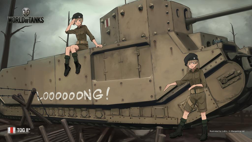戦場の華 feat.しばふ #12: TOG II*