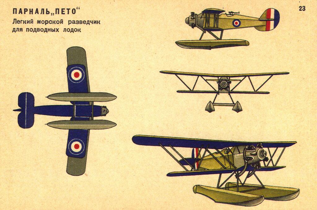 Военные самолеты Англии (1934) 23