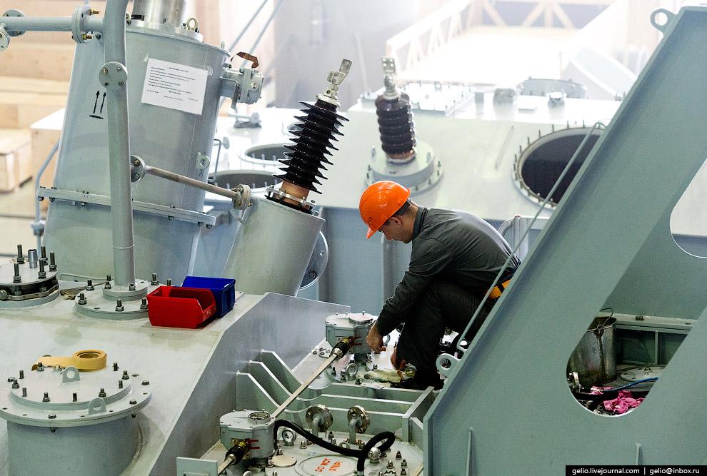 29. В 2015 году завод пополнил линейку продукции трансформаторами 500 КВ. Первый такой трансфор