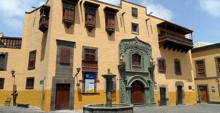 3. Дом Колумба в испанском городе Лас-Пальмас-де-Гран-Канария Пять могил Иисуса Христа