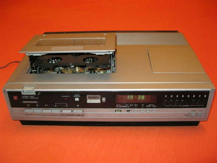 Какие видеомагнитофоны выпускали в СССР (20 фото)