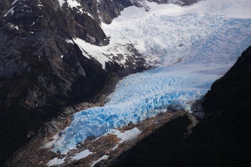 Самые красивые крупнейшие ледники мира: Серрано и Бальмаседа, Чили