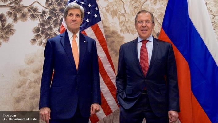 Керри иЛавров встретились в столицеРФ