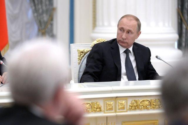 82% граждан России довольны деятельностью Владимира Путина