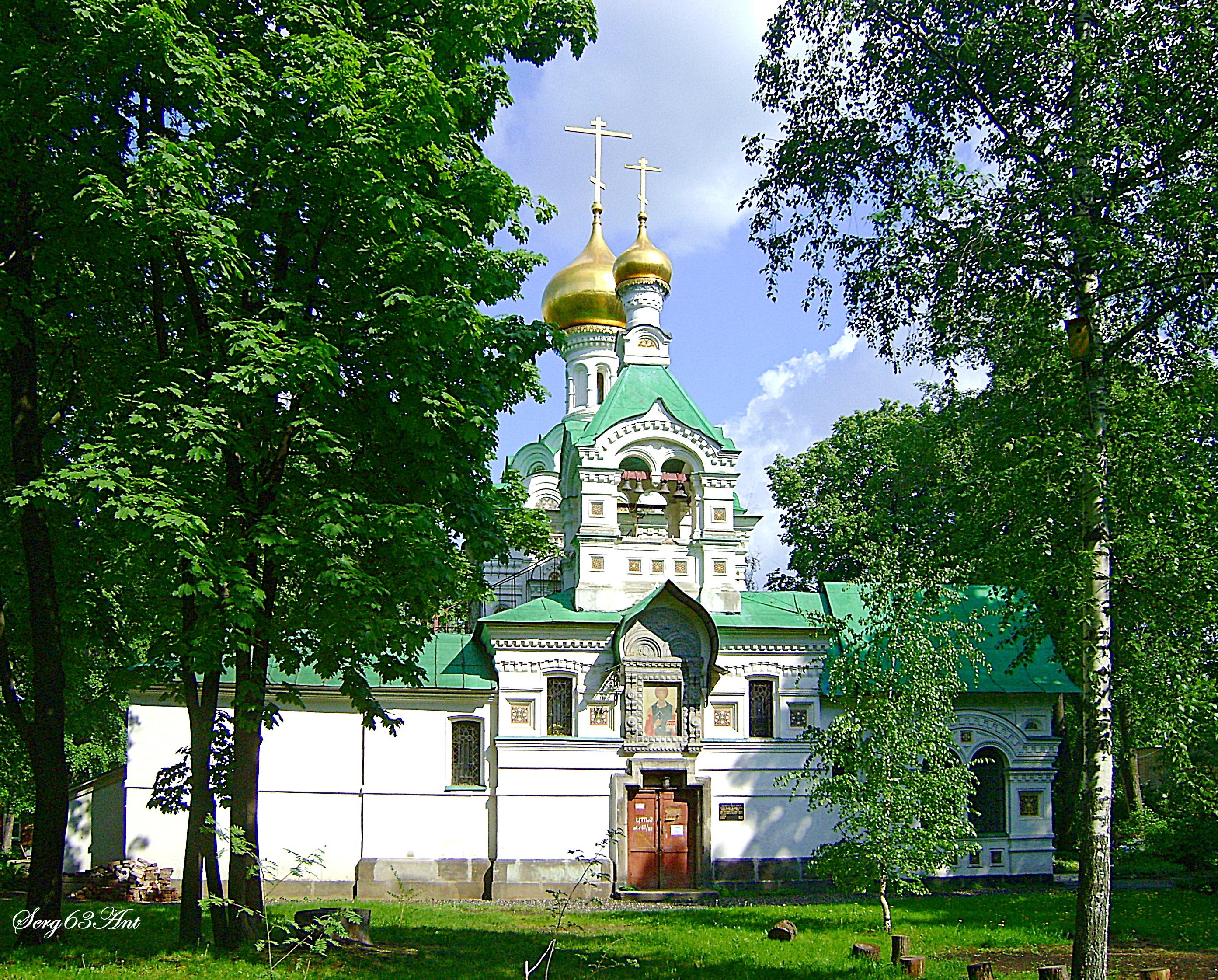 Троицкий Храм в Свято-Владимирской больнице