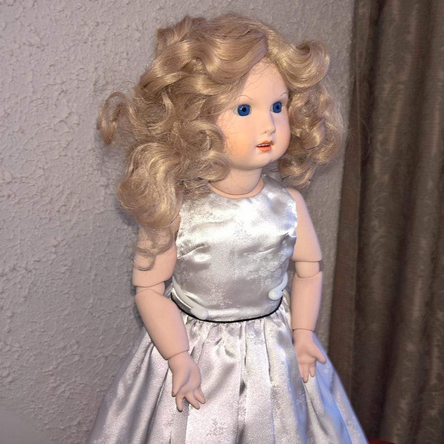 Винтажная кукла LZ SCD 11-81
