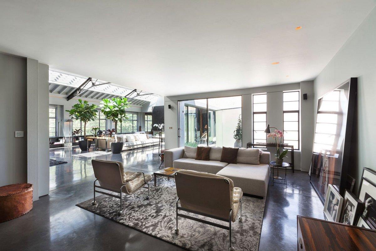 Gumuchdjian Architects, Domus Nova, аренда дома в Англии, огромный частный дом фото, большая гостиная фото, оформление большой гостиной