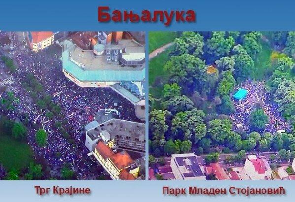 Босния и Герцеговина, митинг, Баня-Лука