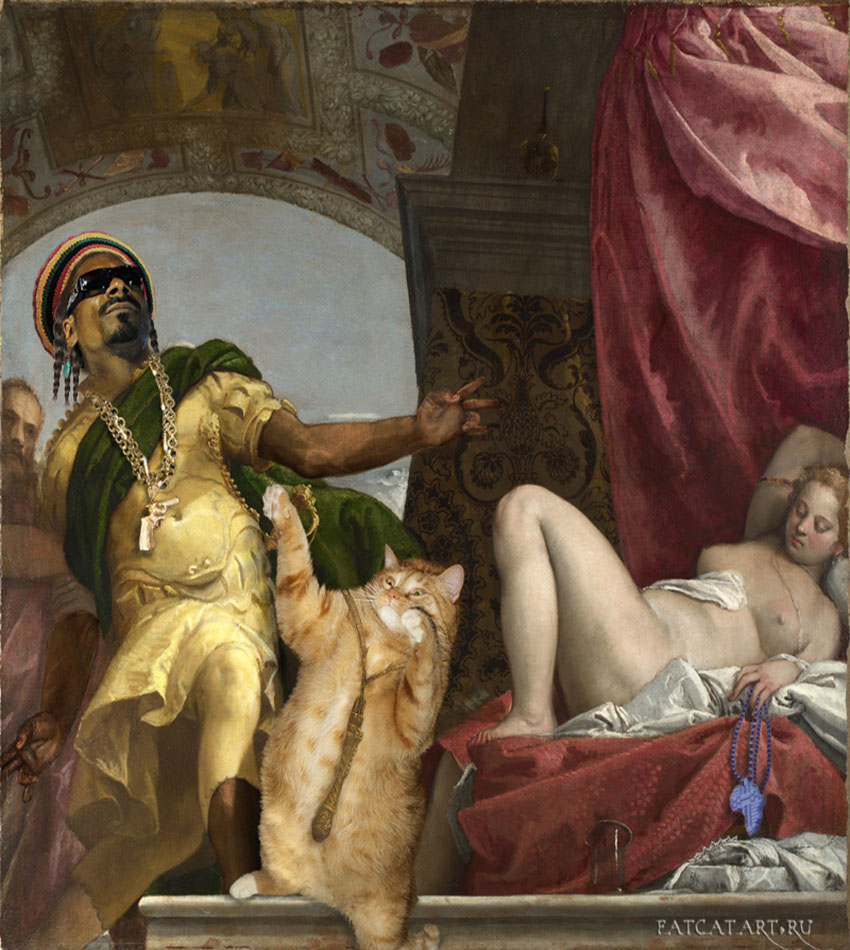 Паоло Веронезе, Респект котам и львам, с участием Снупп Лайона