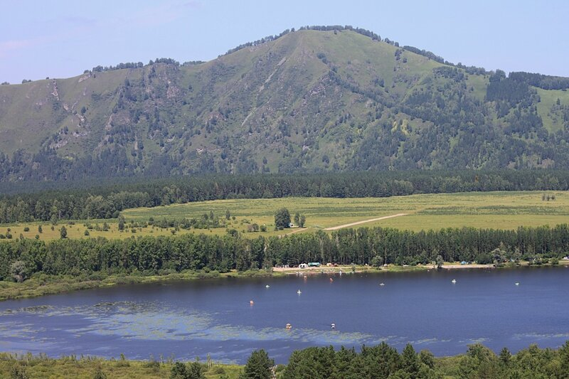 Алтай, озеро Манжерок (Altai, lake Manzherok)