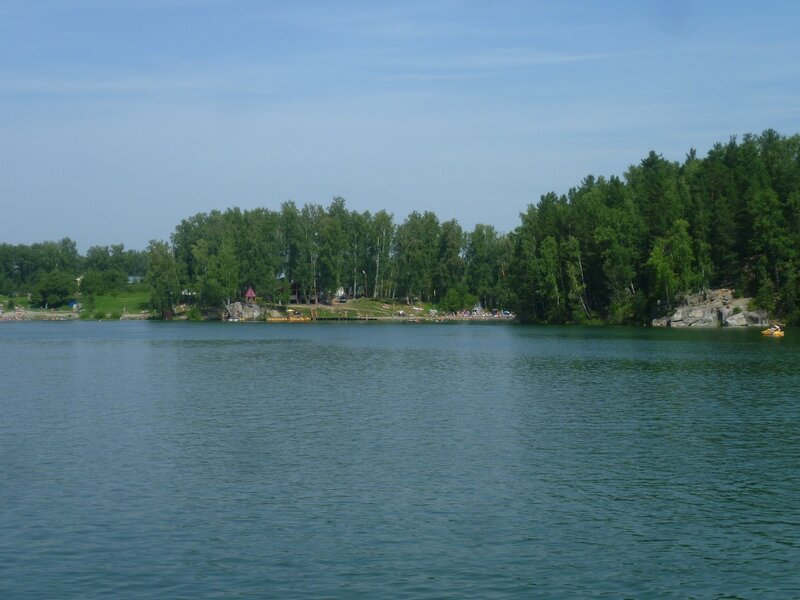 Алтай, озеро Ая (Altai, lake Aya)
