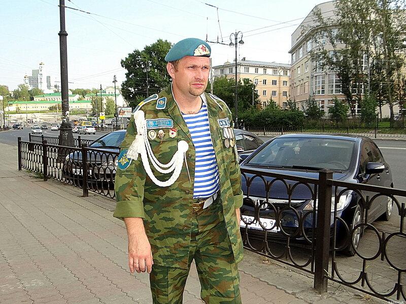 Старший сержант ВДВ.
