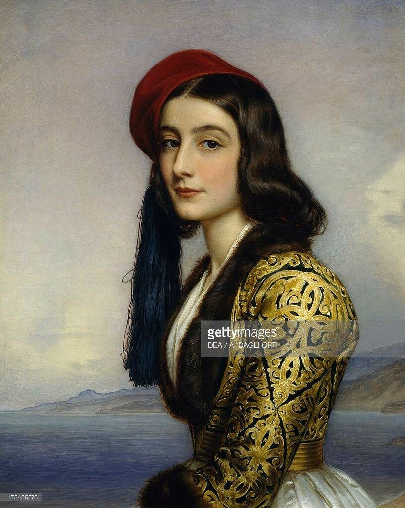 Portrait of Khatarina Botzaris, 1841.jpg