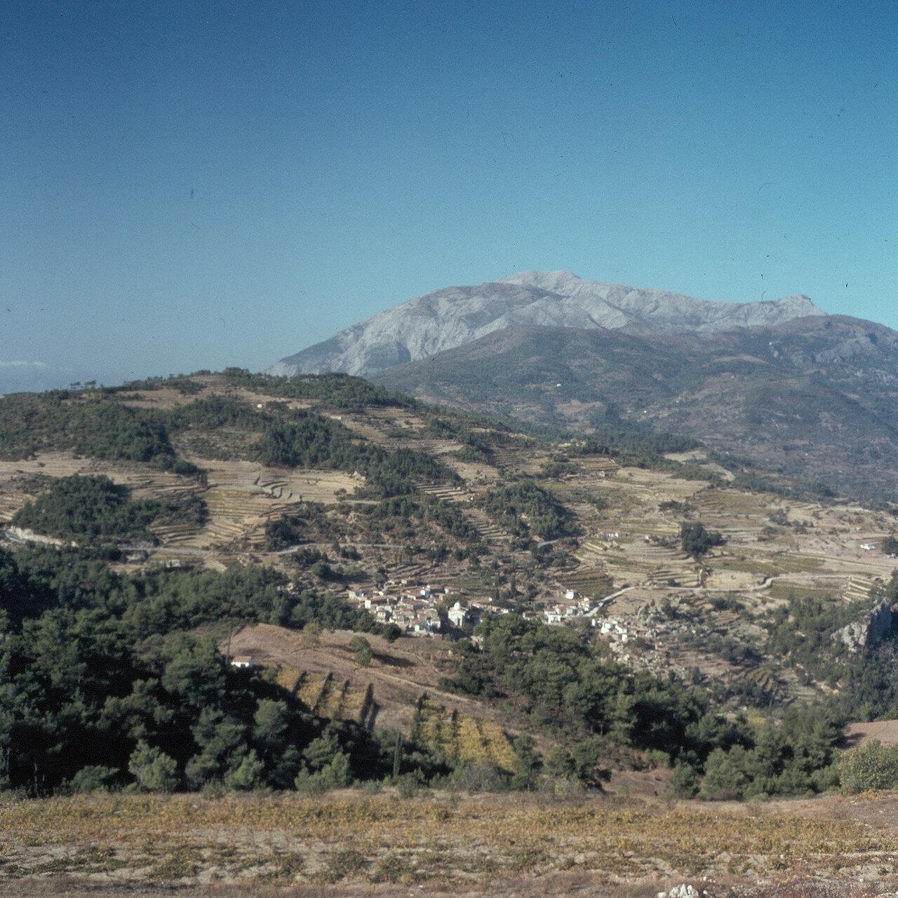 Самос. Агии Теодори под горой Керкис, 1440м. 1964