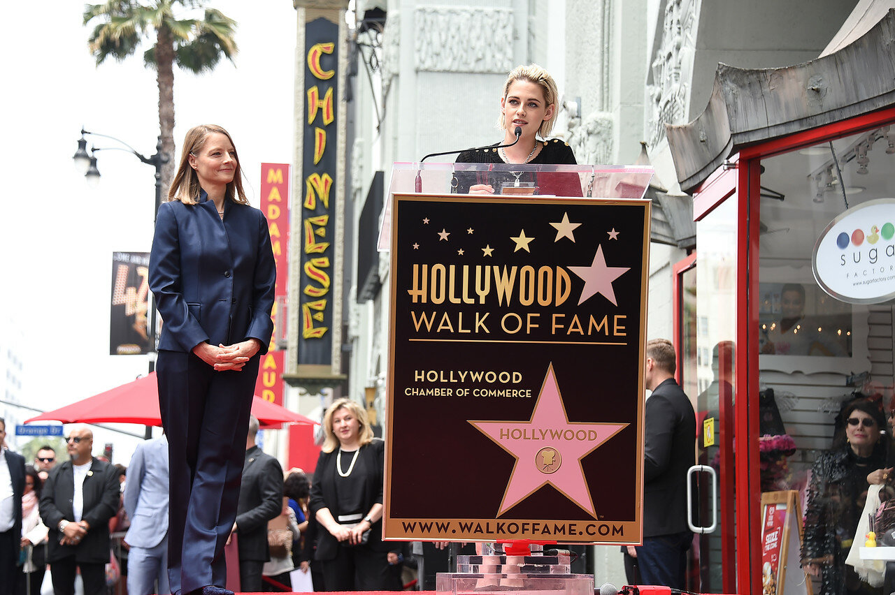 Jodie Foster Honored With a Star on the Hollywood Walk of Fame
