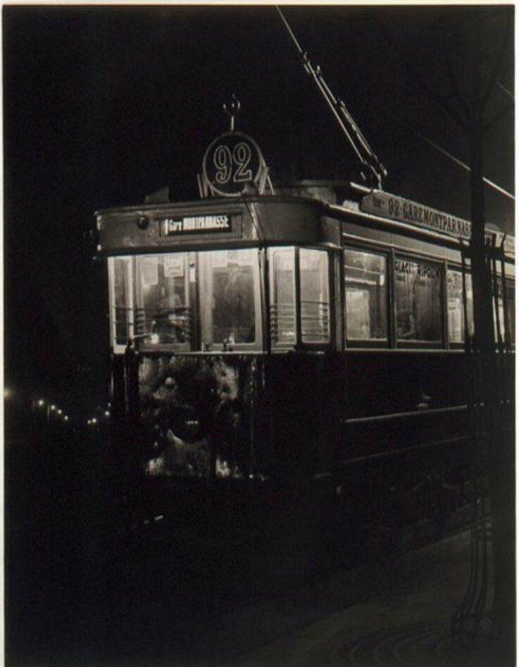 1932. Трамвай на Монпарнасе