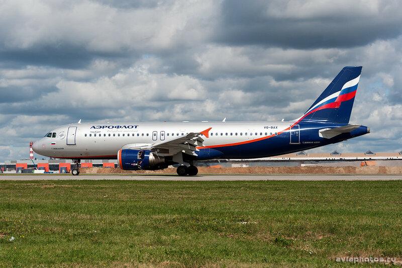 Airbus A320-214 (VQ-BAX) Аэрофлот 0063_D703403