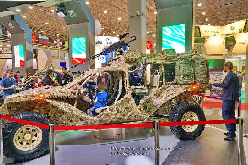 Аэромобильный многоцелевой автовездеход багги Чаборз-М6, форум Армия-2017