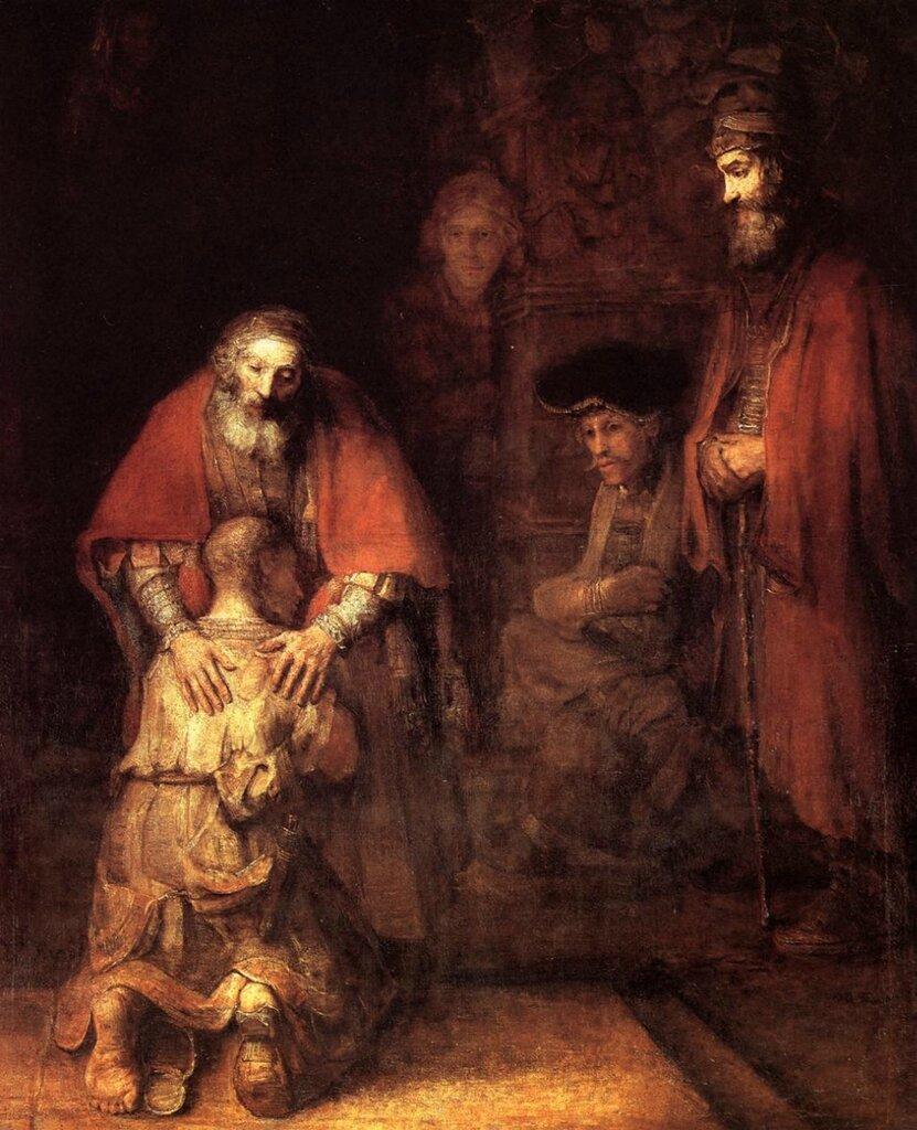 Возвращение блудного сына, 1669.